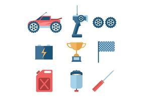 Fernbedienung Auto Vektor Icon