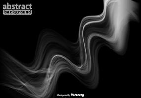 Fondo bianco del fumo di vettore di spettro - vettore