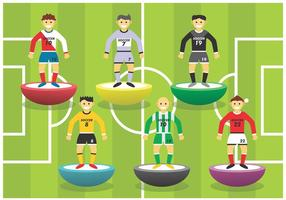 Subbuteo Vector Set