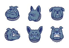Bulldogs Mascot Vector