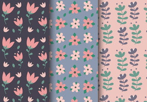 Gratis lente bloemenpatroon