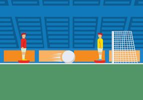 Subbuteo game illustration