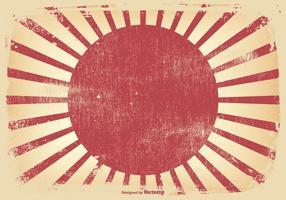Kamikazi Stil Grunge Hintergrund