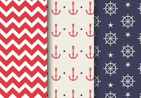 Free Sea Nautical Pattern vector