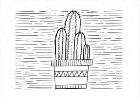 Gratis Vector Cactus Illustration