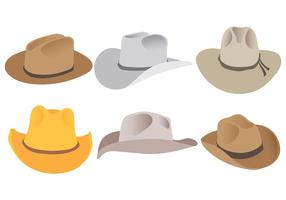 Gratis Gaucho Hats Icons Vector
