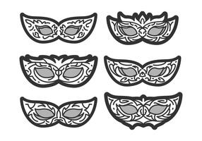 Free Unique Masquerade Ball Vectors