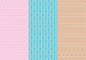 Copacabana Pattern Background