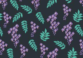 Dark Wisteria Pattern