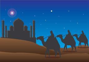 Vector feliz Día de Reyes