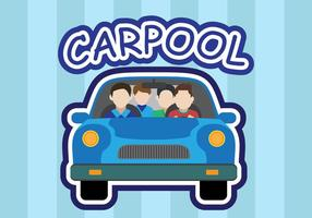 Carpool vector