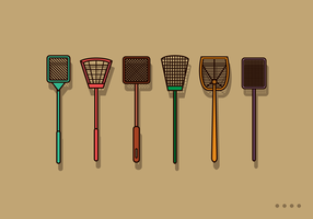 Free Fly Swatter Vector