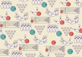 Bowling Lane Pattern Vector