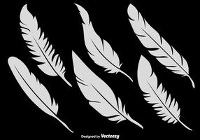 Vector Set Of 6 Feather Icons
