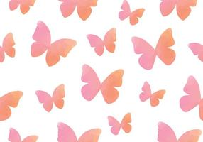 Watercolour Butterfly Seamless Pattern