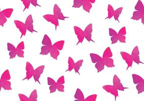 Watercolour Butterfly Seamless Pattern Butterfly vector