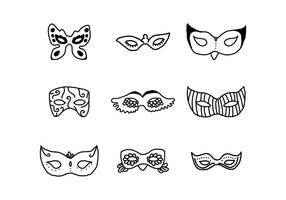 Set Of Masks