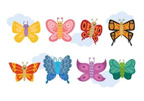 Cartoon Mariposa Vector