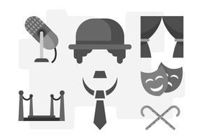 Free Unique Charlie Chaplin Vektoren