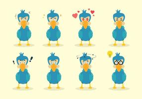 Cartoon Dodo Vector