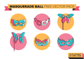Masquerade Ball Libre Vector Pack