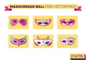 Pacchetto di vettore gratis palla mascherata