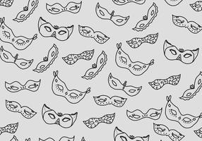 Maskerad bollmönster