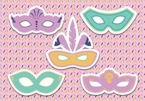 Vector de masque de carnaval