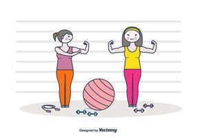 Free Flexing Hintergrund