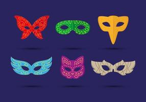 Masquerade Ball Mask Vector