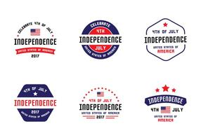 4th July Badges