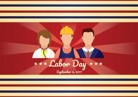 Arte do vetor do Dia do Trabalhador