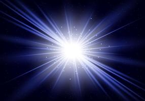 Blue Star Burst