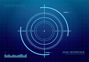HUD Background and Element Background Set vector