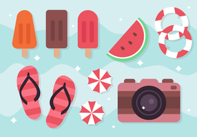 Free Summer Holiday Elements