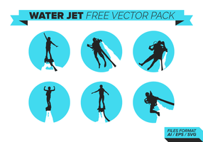 Water Jet Free Vector Pack