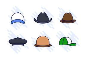 Vetores livre livre do chapéu