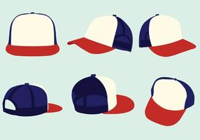 Trucker Hats Vector Pack