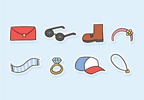 Accessories Doodle Icon Pack