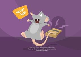 Mouse Trap Illustration