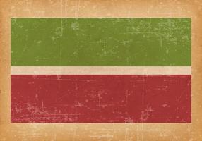 Grunge Flagge von Tatarstan