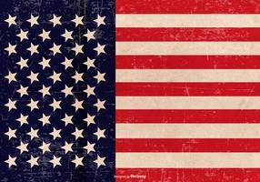 Grunge Patriottische Achtergrond