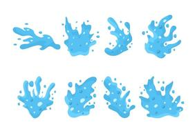 Gratis Water Jet Splash Vector