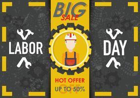 Arbeitstag Verkauf Vektor