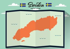Sverige Vector Map