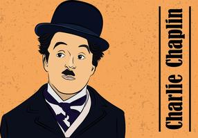 Charlie Chaplin Gratis Vector
