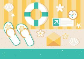 Free Vector Summer Elements