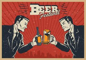 Festival de la cerveza vector