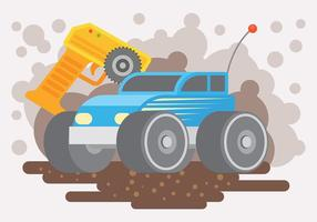 Rc Car Vector Background