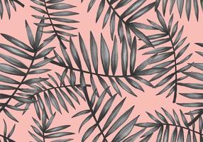 Pop Palmetto Nahtloses Muster